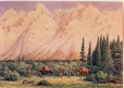M466 | Foot of Rocky Mountains | Painting | William George Richardson Hind |  |