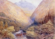 M468 | Athabaska River Leading Towards the Pass in the Rocky Mountains | Painting | William George Richardson Hind |  |