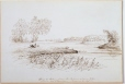 M690 | Bout de l'Isle, from the Bridge above the Riviere des Prairies Breakfast 14 Augt. 13. | Drawing | James Duncan (1806-1881) |  |
