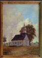 M1168 | Berthier en haut, the first Protestant Church in Lower Canada | Painting | Henry Richard S. Bunnett |  |