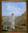 M1172 | Three Rivers, Old Chimney | Painting | Henry Richard S. Bunnett |  |