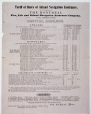 M4646 | Montreal Fire, Life and Inland Navigation Assurance Company. Tariff of Rates of Inland Navigation Insurance. | Print |  |  |
