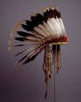 M5347 |  | Headdress | Anonyme - Anonymous | Aboriginal: Assiniboine or Nakoda | Northern Plains