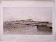 M930.40.1.49   Grand Trunk Railway of Canada, Victoria Bridge, over the River St. Lawrence at Montreal, QC, 1860   Print   S. Russel     