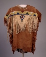 M14372 | Chief American Horse's Outfit | Shirt | Anonyme - Anonymous | Aboriginal: Iroquois, Mohawk | Eastern Woodlands