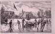 M975.62.159 | Lacrosse on the Ice, on the Tank at Montreal | Print | Anonyme - Anonymous |  |