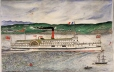 M982.532 | The Richelieu and Ontario Navigation Co. From Toronto To Ha ! Ha ! Bay - Saguenay 800 Miles | Painting | Thomas Audet |  |