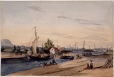 M984.273 | Lachine Canal, Lachine, QC | Painting | James Duncan (1806-1881) |  |
