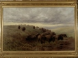 M21660 | Buffaloes on the Canadian Prairies | Painting | Frederick Arthur Verner |  |
