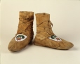 ME987.120.4A-B |  | Moccasins | Anonyme - Anonymous | Aboriginal: Eastern Cree? | Eastern Subartic