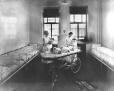 MP-1973.1.7 | Nurses, cribs, and baby trolley, Montreal Maternity Hospital, Montreal, QC, 1925-26 | Photograph | Blackburns |  |