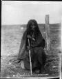 MP-1973.49.164 | Omuxapot Okrista, Sarcee elder, near Calgary, AB, about 1885 | Photograph | William Hanson Boorne |  |