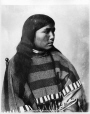 MP-1973.49.172 | Sikunnakio, Sarcee girl, near Calgary, AB, about 1885 | Photograph | William Hanson Boorne |  |