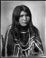 MP-1973.49.174 | Cocona Sinipawsoyissi Otokeman, Sarcee woman, near Calgary, AB, about 1885 | Photograph | William Hanson Boorne |  |