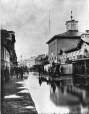 MP-0000.352 | Flood in St. Anne's Market, Montreal, QC, about 1870 | Photograph | Alexander Henderson |  |