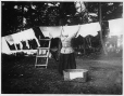 MP-1974.133.185 | Woman hanging the washing, Drummondville, QC, about 1900 | Photograph | Charles Howard Millar |  |