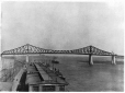 MP-1976.254.48 | Main span complete, Harbour Bridge, Montreal, QC, 1930 | Print | Anonyme - Anonymous |  |