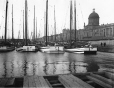 MP-1977.76.25 | Sail barges in basin, Montreal harbour, QC, 1897 | Photograph | Alfred Walter Roper |  |