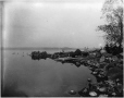 MP-1977.76.52 | Chasse au canard, North Point, île Rock, lac Rice, Ont., 1897 | Photographie | Alfred Walter Roper |  |