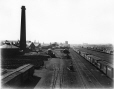 MP-1977.76.62   Grand Trunk Railway yards, Point St. Charles, Montreal, QC, 1898   Photograph   Alfred Walter Roper     