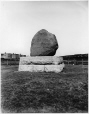 MP-1977.76.64 | Stone commemorating 6000 immigrant deaths, Point St. Charles, QC, 1898 | Photograph | Alfred Walter Roper |  |