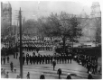 MP-1977.76.75 | Military parade, Dominion Square, Montreal, QC, 1898 | Photograph | Alfred Walter Roper |  |