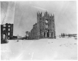 MP-1977.76.120 | Sacred Heart Convent ruins, Montreal, QC, 1902 | Photograph | Alfred Walter Roper |  |