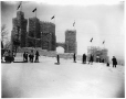 MP-1977.76.153 | Ice palace in Fletcher's Field, Montreal Winter Carnival, Montreal, QC, 1909 | Photograph | Alfred Walter Roper |  |