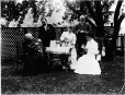 MP-1977.76.175 | Group at tea in garden, about 1890 | Photograph | Alfred Walter Roper |  |