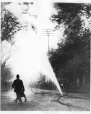 MP-1977.183.3.3 | Fire hose on street, Montreal(?), QC, about 1910 | Photograph | Anonyme - Anonymous |  |