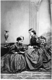 MP-1978.9.2 | Unidentified woman and Mrs. Hale (at right), Quebec City, QC, 1866 | Photograph | Archambault & McCorkindale |  |
