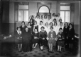 MP-1978.107.50 | Monk and group of women and girls, about 1930 | Photograph | Anonyme - Anonymous |  |