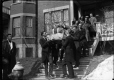 MP-1978.107.60 | Coffin leaving house, funeral, Montreal, QC, about 1930 | Photograph | Anonyme - Anonymous |  |