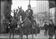 MP-1978.107.85 | Mounted policeman and official, St. Patrick's Day Parade(?), Montreal, QC, about 1930 | Photograph | Anonyme - Anonymous |  |