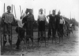 MP-1978.107.91 | Boys on stilts, about 1935 | Photograph | Anonyme - Anonymous |  |