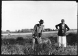 MP-1978.107.112 | Man, woman & dog with beaver, about 1930 | Photograph | Anonyme - Anonymous |  |