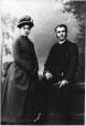 MP-1977.9.29 | Mr. and Mrs. Alfred Blackman, New Haven, Connecticut, about 1880 | Photograph | Bundy & Stoddard |  |