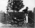 MP-1974.129.100 | Rural couple hoeing, Drummondville, QC, about 1900 | Photograph | Annie G. McDougall |  |