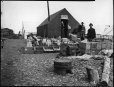 MP-1979.111.150 | Temporary stores, Nome Beach, Alaska, 1900 | Photograph | Edwin Tappan Adney |  |