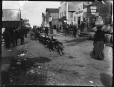 MP-1979.111.171 | View in Nome street, Nome, Alaska, about 1900 | Photograph | Edwin Tappan Adney |  |