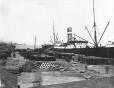 MP-1979.155.183 | New wharf, Montreal harbour, QC, 1910 | Photograph | Anonyme - Anonymous |  |