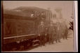 MP-1983.92.9 | Wood-burning locomotive and crew, St. Sauveur des Monts, QC, ca. 1900 | Photographie |  |  |