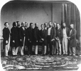 MP-1984.107.142 | Prince of Wales and group, 1860 | Photograph | Matthew Brady |  |