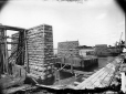 MP-1985.31.116 | Piers 1 and 2 and abutments, Bout de L'Isle, QC, about 1900 | Photograph | N. M. Hinshelwood |  |