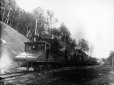 MP-1985.31.167 | Electrical train at Shawinigan(?), QC, about 1900 | Photograph | N. M. Hinshelwood |  |