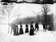 MP-1985.31.182 | Snowshoe group, Mount Royal, Montreal, QC, about 1901 | Photograph | N. M. Hinshelwood |  |