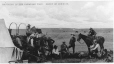 MP-1984.38.1.16 | Ranching in the Canadian West.  Group of cowboys, AB(?), about 1900 | Print | Anonyme - Anonymous |  |