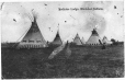 MP-1986.64.5 | Medicine Lodge, Blackfoot Indians, 1907 | Print | A. Y. & CO. |  |