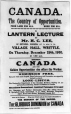 MP-1987.34.7 | Le Canada, pays de l'avenir, affiche, Ont., 1910 | Affiche | Essex County Chronicle |  |