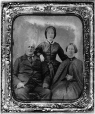 MP-1987.55.3 | Man, woman and grown daughter, about 1860 | Photograph | Anonyme - Anonymous |  |